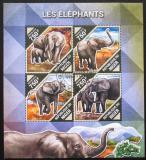 Poštovní známky Niger 2014 Sloni Mi# 2830-33 Kat 12€