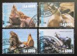 Poštovní známky Poštovní známky Sierra Leone 2016 Lachtani Mi# 7083-86 Kat 11€