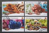 Poštovní známka Togo 2015 Minerály Mi# 6519-22 Kat 12€