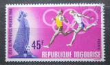 Poštovní známka Togo 1968 LOH Mexiko, běh Mi# 664
