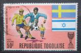 Poštovní známka Togo 1968 MS ve fotbale Mi# 797
