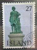 Poštovní známka Island 1975 Socha Thorvaldsena Mi# 511