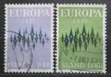 Poštovní známky Island 1972 Evropa CEPT Mi# 461-62
