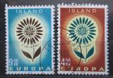 Poštovní známky Island 1964 Evropa CEPT Mi# 385-86