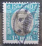 Poštovní známka Island 1920 Král Kristián X, služební Mi# 37