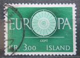 Poštovní známka Island 1960 Evropa CEPT Mi# 343