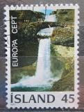 Poštovní známka Island 1977 Evropa CEPT, vodopády Mi# 522