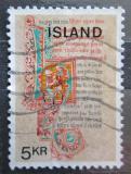 Poštovní známka Island 1970 Rukopisy Mi# 439