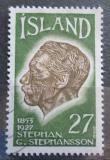 Poštovní známka Island 1975 Stephan G. Stephansson Mi# 504