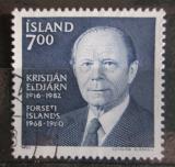 Poštovní známka Island 1983 Prezident Kristján Eldjárn Mi# 611