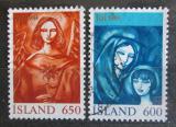 Poštovní známky Island 1984 Vánoce Mi# 624-25