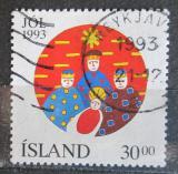 Poštovní známka Island 1993 Vánoce Mi# 795