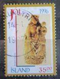 Poštovní známka Island 1996 Vánoce, umění Mi# 860
