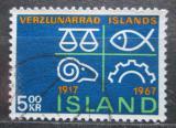 Poštovní známka Island 1967 Obchodní komora Mi# 412