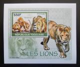 Poštovní známka Togo 2010 Lvi DELUXE Mi# 3472 Block