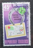 Poštovní známka Togo 1968 Státní loterie Mi# 670