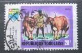 Poštovní známka Togo 1969 Farmářství Mi# 743