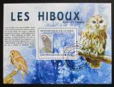 Poštovní známka Guinea 2009 Sovy Mi# Block 1767 Kat 10€