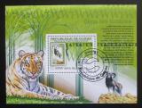 Poštovní známka Guinea 2009 Fauna WWF na známkách Mi# Block 1768 Kat 10€