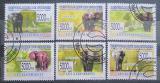 Poštovní známky Guinea 2009 Sloni Mi# 6463-68 Kat 12€