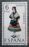 Poštovní známka Španělsko 1967 Lidový kroj Almeria Mi# 1681