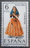 Poštovní známka Španělsko 1967 Lidový kroj Baleáry Mi# 1691