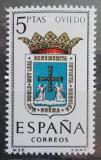 Poštovní známka Španělsko 1964 Znak Oviedo Mi# 1524