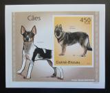 Poštovní známka Guinea-Bissau 2010 Psi DELUXE neperf. Mi# 5066 B Block