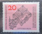 Poštovní známka Německo 1964 Opatství Ottobeuren Mi# 428