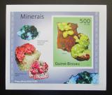 Poštovní známka Guinea-Bissau 2010 Minerály DELUXE neperf Mi# 4988 B Block