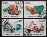 Poštovní známky Komory 2009 Minerály Mi# 2632-35 Kat 9€