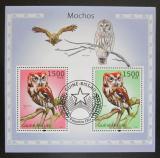 Poštovní známky Guinea-Bissau 2010 Sovy Mi# Block 870 Kat 12€
