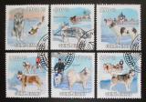 Poštovní známky Guinea-Bissau 2009 Psi Aljašky a Sibiře Mi# 4456-61 Kat 13€