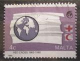 Poštovní známka Malta 1988 Červený kříž, 125. výročí Mi# 796
