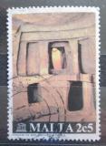 Poštovní známka Malta 1980 Chrám Hal Saflieni Mi# 610
