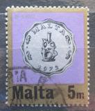 Poštovní známka Malta 1972 Mince Mi# 441