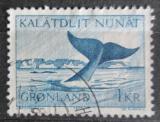 Poštovní známka Grónsko 1970 Velryba grónská Mi# 75