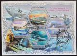 Poštovní známky Pobřeží Slonoviny 2018 Ponorky z Druhé světové války Mi# N/N