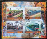 Poštovní známky Rwanda 2017 Parní lokomotivy Mi# N/N