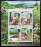 Poštovní známky Šalamounovy ostrovy 2015 Vietnamská válka Mi# 3057-60 Kat 17€