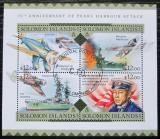 Poštovní známky Šalamounovy ostrovy 2016 Útok na Pearl Harbor Mi# 3686-89 14€