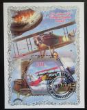 Poštovní známka Pobřeží Slonoviny 2018 Historická letadla Mi# N/N