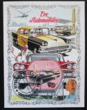 Poštovní známka Pobřeží Slonoviny 2018 Klasické automobily Mi# N/N