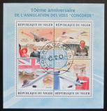 Poštovní známky Niger 2013 Concorde Mi# 2227-30 Kat 12€