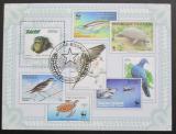 Poštovní známka Guinea-Bissau 2010 Fauna WWF Mi# Block 807 Kat 13€
