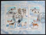 Poštovní známky Guinea-Bissau 2009 Psi Aljašky a Sibiře Mi# 4456-60 Kat 13€