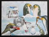 Poštovní známka Guinea-Bissau 2009 Tučňáci Mi# Block 714 Kat 14€