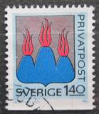 Poštovní známka Švédsko 1982 Znak Västmanland Mi# 1191