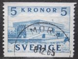 Poštovní známka Švédsko 1958 Královský palác Mi# 285 A