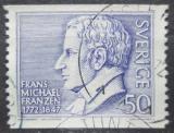 Poštovní známka Švédsko 1972 Frans Michael Franzén, básník Mi# 743